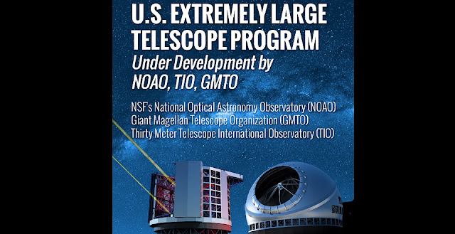 The U.S. Extremely Large Telescope (US-ELT) Program, under development by the National Science Foundation's (NSF) National Optical Astronomy Observatory (NOAO), the Giant Magellan Telescope Organization (GMTO), and the Thirty Meter Telescope International Observatory (TIO)