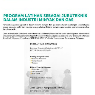Instep Institusi Teknologi Petroleum Petronas Apply