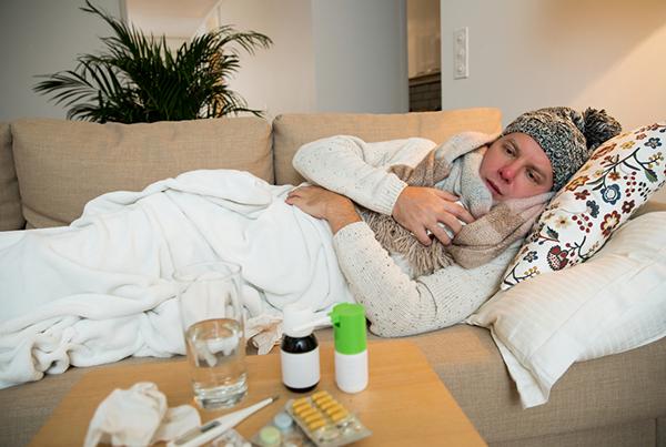 كيف تتخلص من الانفلونزا بسرعة