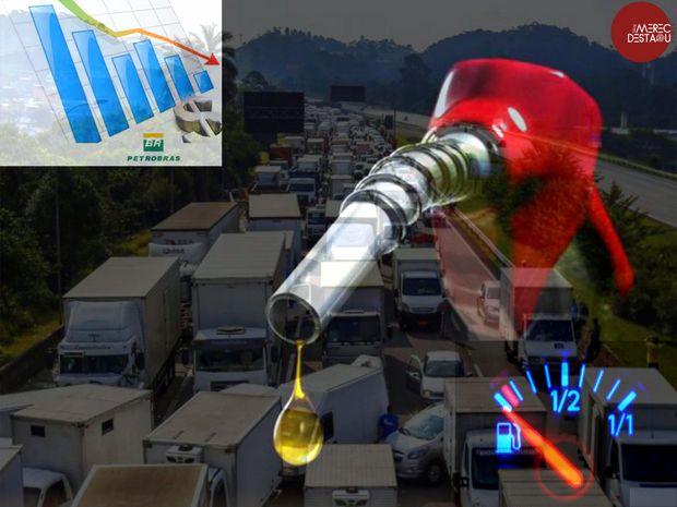 Combustíveis: A crise em curso tem dois pés