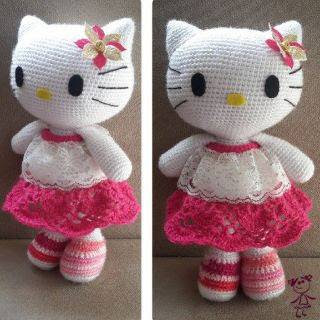 PATRON HELLO KITTY AMIGURUMI 28072