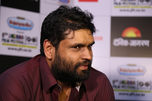 Ravi Bhagchandka, producer of Sachin A Billion Dreams during the day 2 of Jagran Film Festival