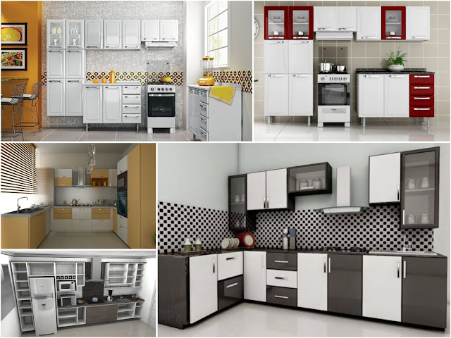 Modular Kitchen Cabinet: Pictures, Models And Cabinets In MDF