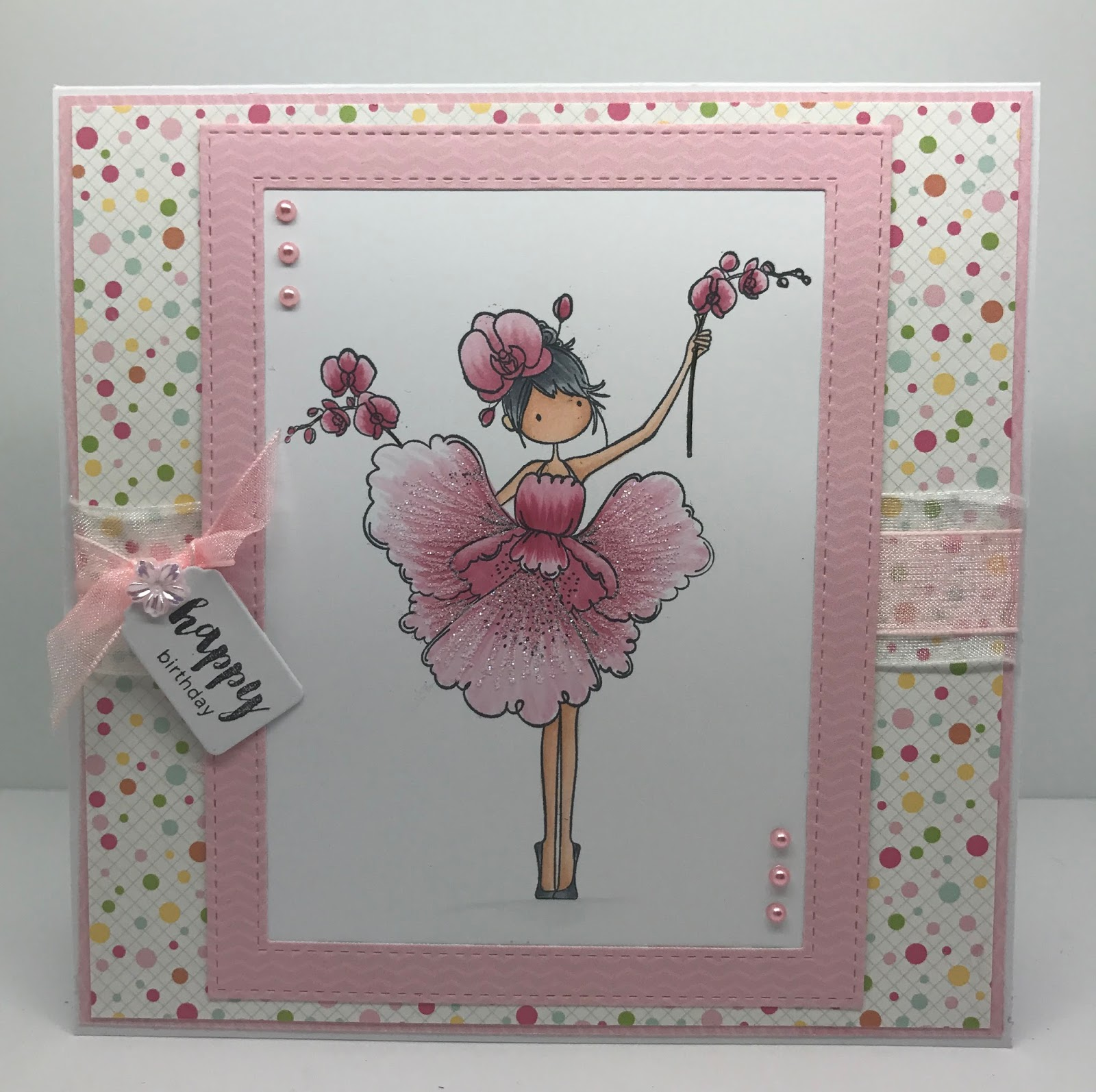 Especially For You Happy Birthday From Stamping Bella Orchid Girl