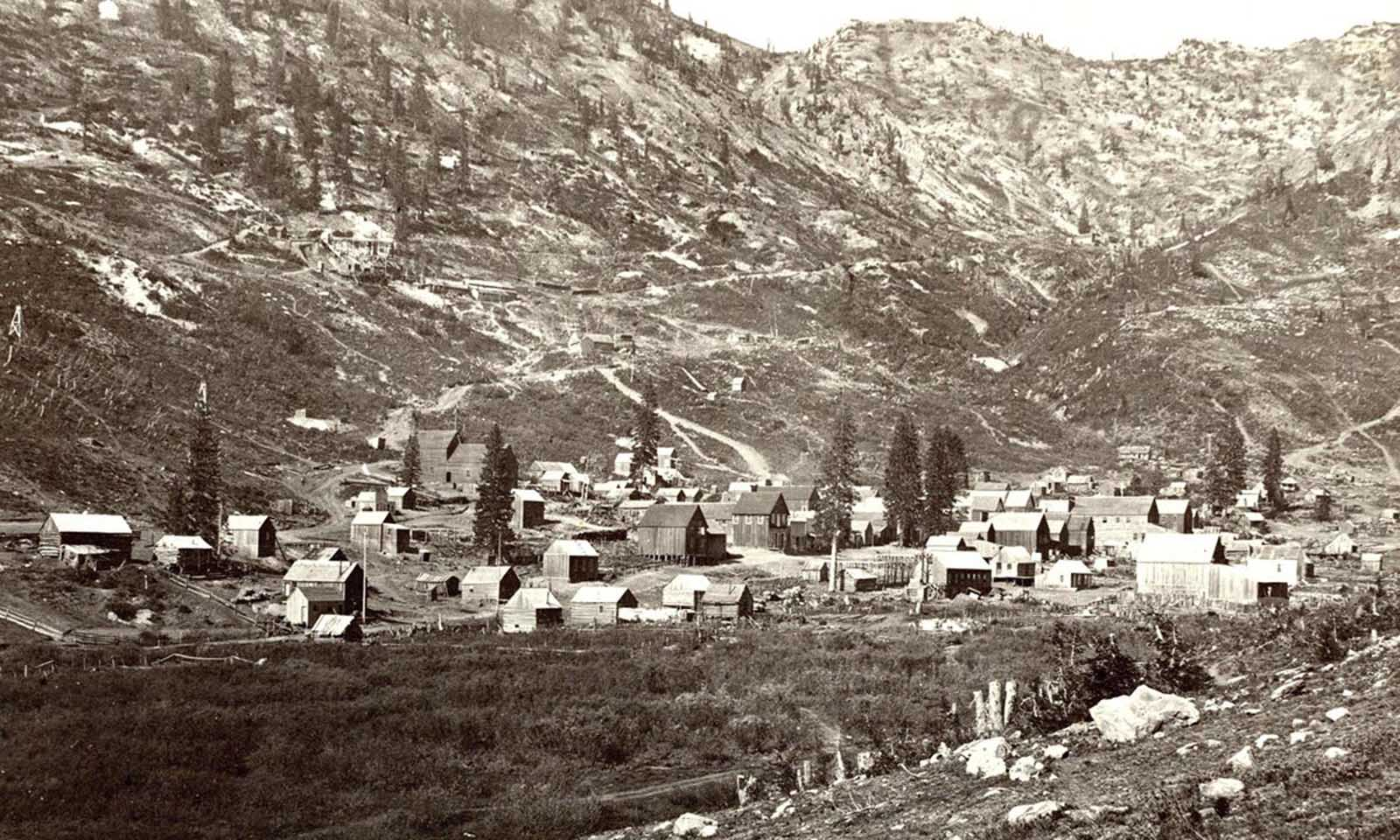 Alta City, Little Cottonwood, Utah, ca. 1873.