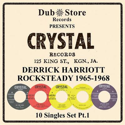 Derrick Harriott Rocksteady 1965 to 1968 - 10 Singles Set Pt. 1