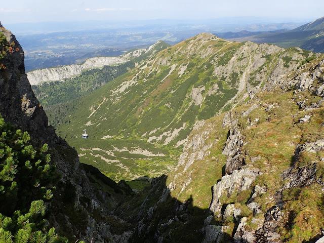 Dolina Kasprowa z zielonego szlaku Kasprowy-Kuźnice