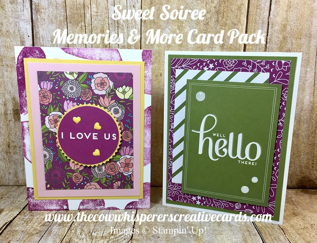 Sweet Soiree, Card Pack, Memories & More