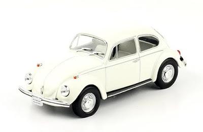 """Volkswagen 1500 Sedán """"Escarabajo"""" 1973 autos a escala"""