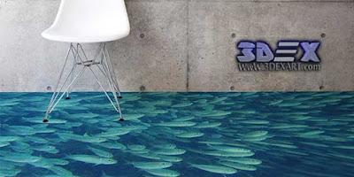 3D Flooring, 3d epoxy, 3D Floor designs murals