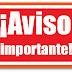 Aviso importante: a partir del día 10/10/2016 hasta el día 14/10/2016, se estará realizando censo para un operativo de Esterilización