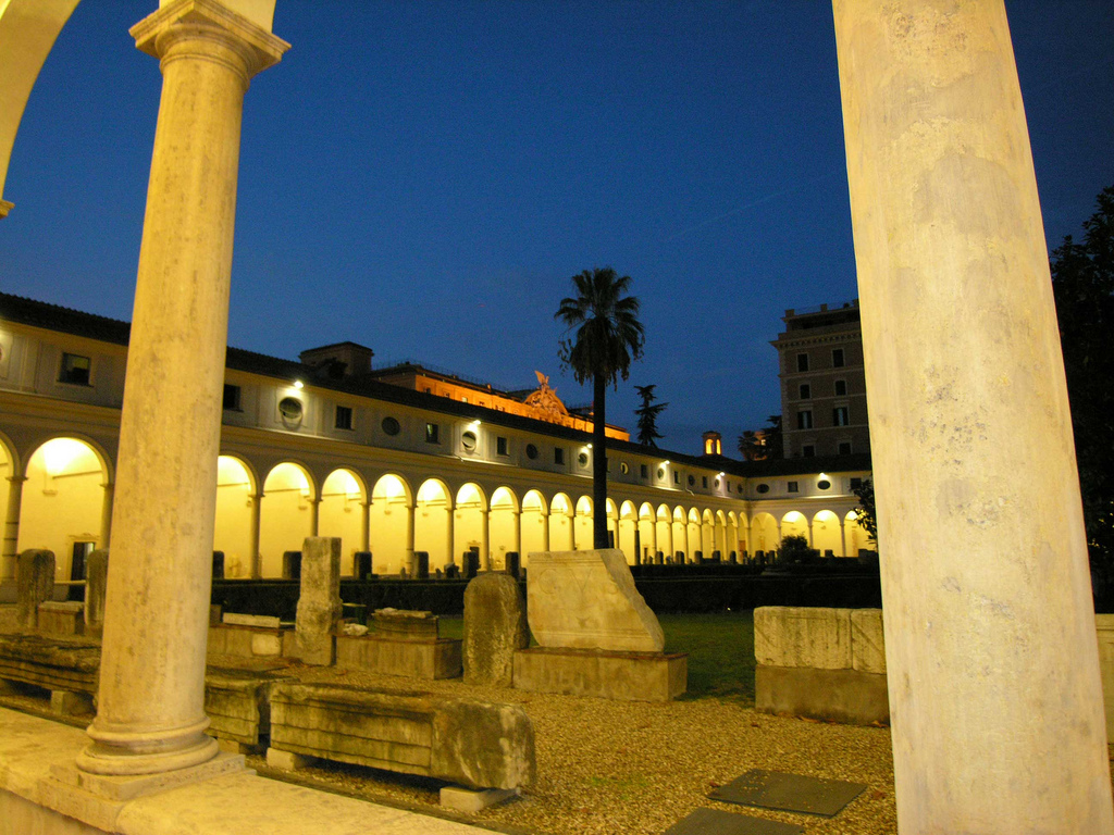 Le Terme di Diocleziano di Sera: Visita Guidata | Romacheap - Eventi  culturali gratuiti (o quasi) a Roma