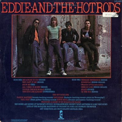 EDDIE & THE HOT RODS - Teenage depression - 2
