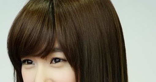 Cute Medium Straight Korean Hairstyle