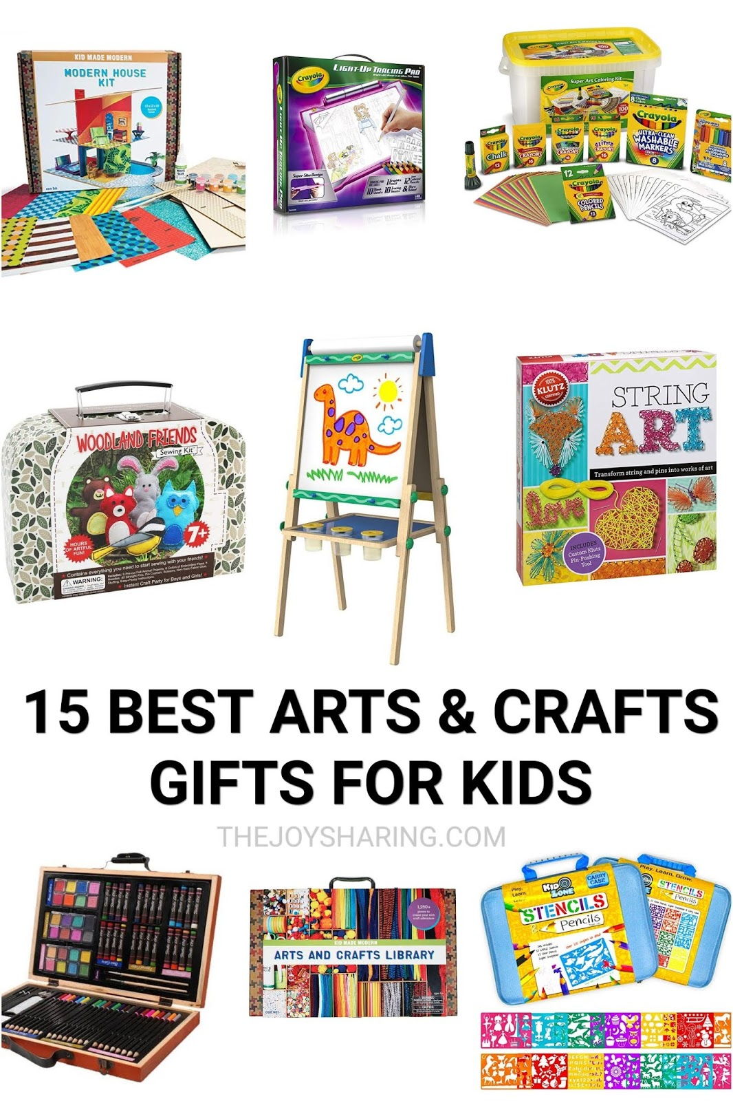 15 Best Arts and Crafts Gifts for Kids - The Joy of Sharing