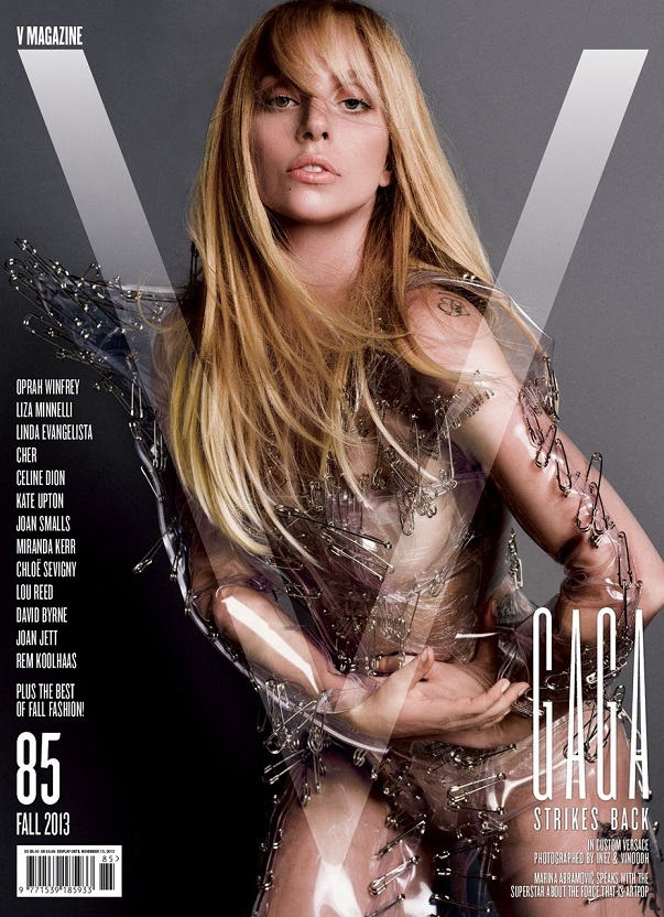 Lady Gaga for V Magazine Fall 2013
