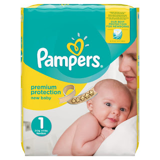 72 x nappies £8 Pampers Premium Protection New Baby, size 1, 2-5 kg, 4-11 lbs, jumbo