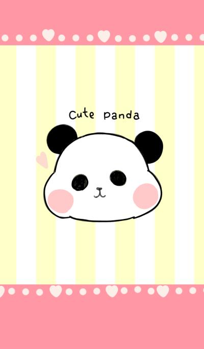 very cute panda