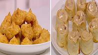 زي السكر حلقة الاربعاء 31-5-2017 طريقة عمل رول قمر الدين - عجينة الشو بالجبنة مع نرمين هنو