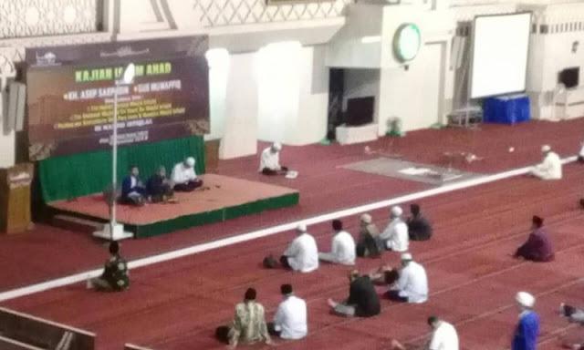 """Kajian Islam Ahad"" di Masjid Istiqlal Sepi Jama'ah"