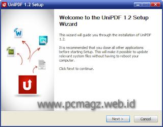 Uni PDF, merubah PDF ke Word