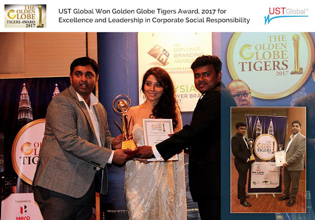 golden globe 2017 award UST global