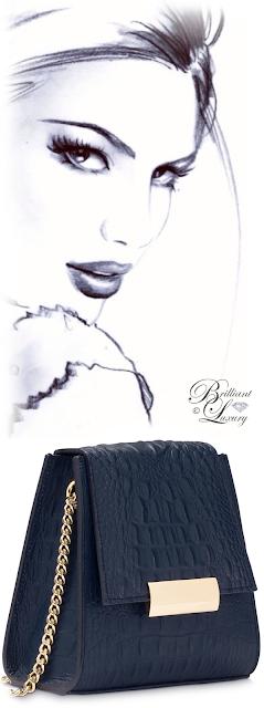 Brilliant Luxury ♦ Boudoir des Lubies Paris ~ Capucine Croco Bag #blumarine