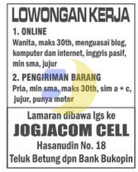 Lowongan Kerja Online Bandar Lampung