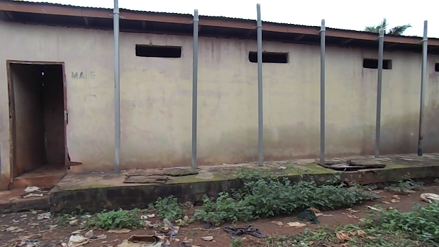 Residents of Nsuta Cry for Renovation of their public toilet