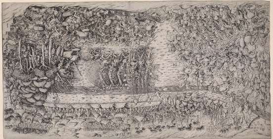 French painting of c. 1500 depicting stradioti of the Venetian Army at the Battle of Fornovo