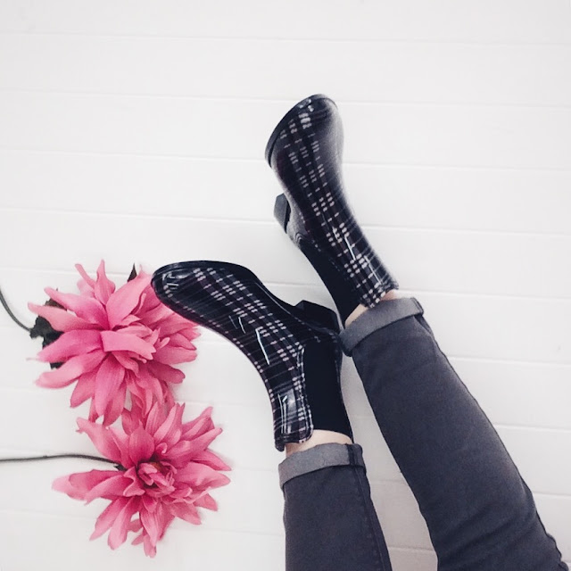 rain ankle booties photo