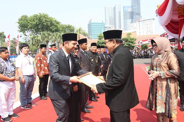 Kabupaten Trenggalek Terima Penghargaan dari Gubernur di Hari Jadi Jawa Timur Ke-73