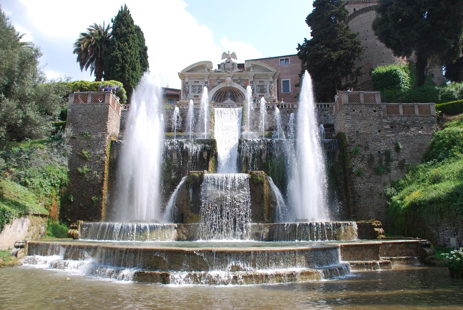 VILLA DESTE  Tivoli The Garden of Eaden