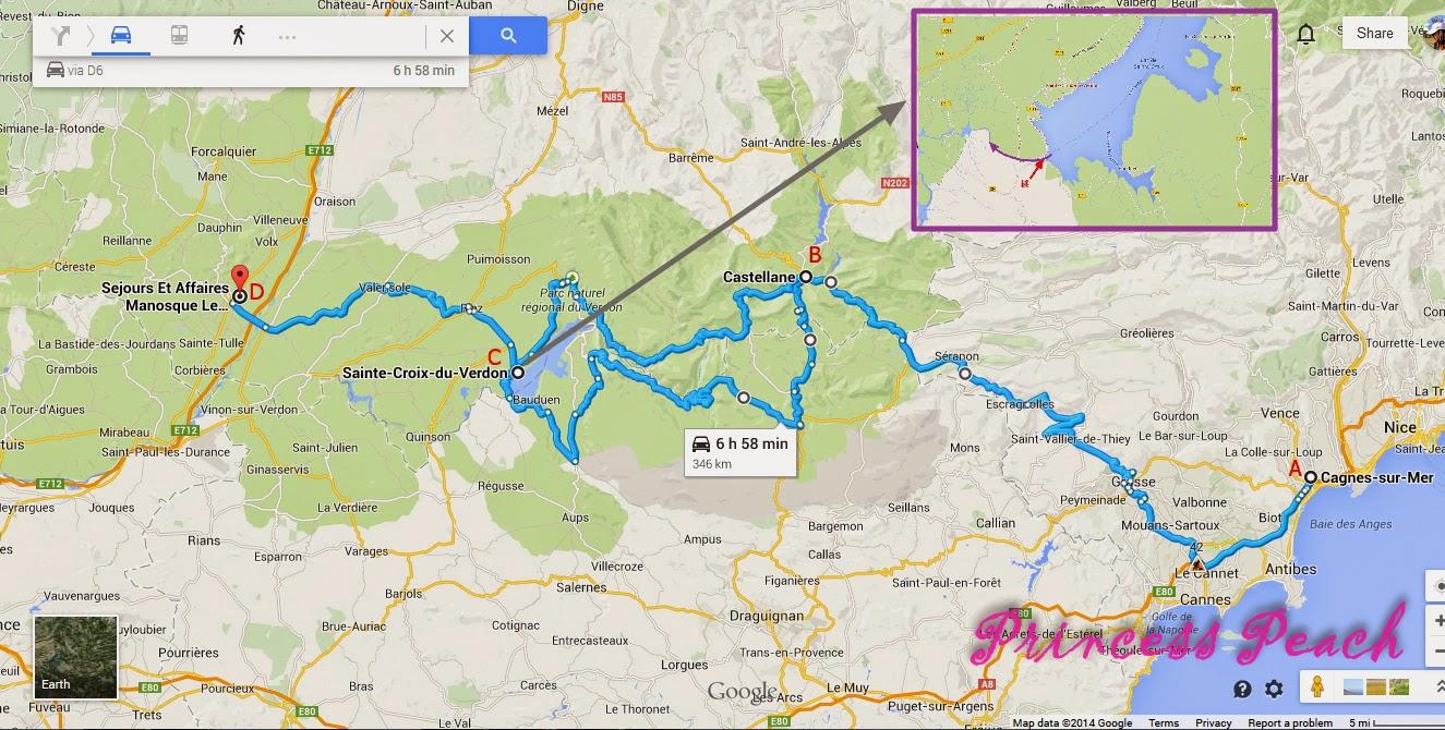 孕婦法國自駕遊-第14天玩樂地圖