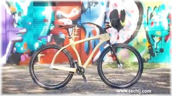 woody scorcher wooden bike
