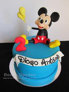 O Mickey no 2º aniversário do Diogo António