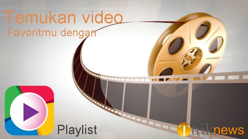 Cara membuat playlist daftar putar di video youtube