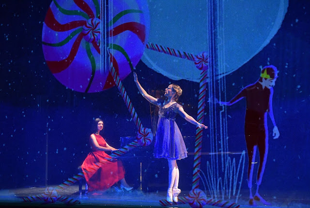 The Nutcracker & I - Alexandra Dariescu, Amy Drew (Photo Mark Allen)