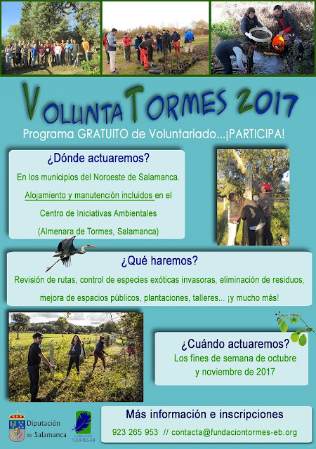 voluntariado ambiental en Salamanca