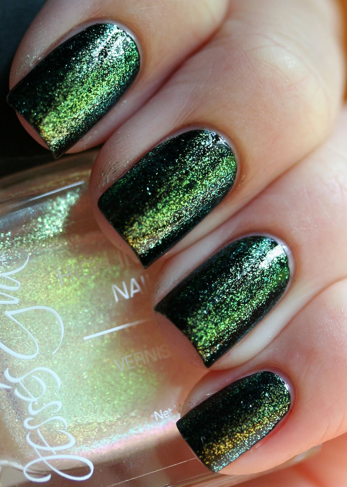 The Nail Network: Jesse\'s Girl Firefly over Black