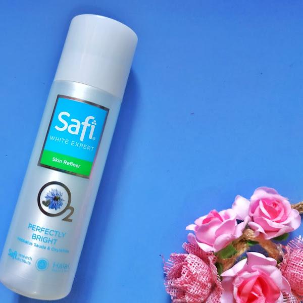 Safi White Expert Skin Refiner : Toner Berbahan Habbatus Sauda