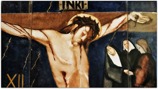Via Sacra 12 'Jesus Morre na Cruz', na Capilla Hotel de Villavicencio