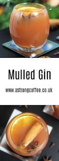 mulled gin recipe, works well with damson and sloe gin. Perfect Christmas cocktail