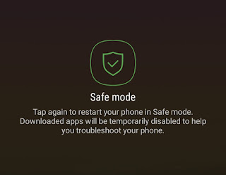 Enable safe mode on Android