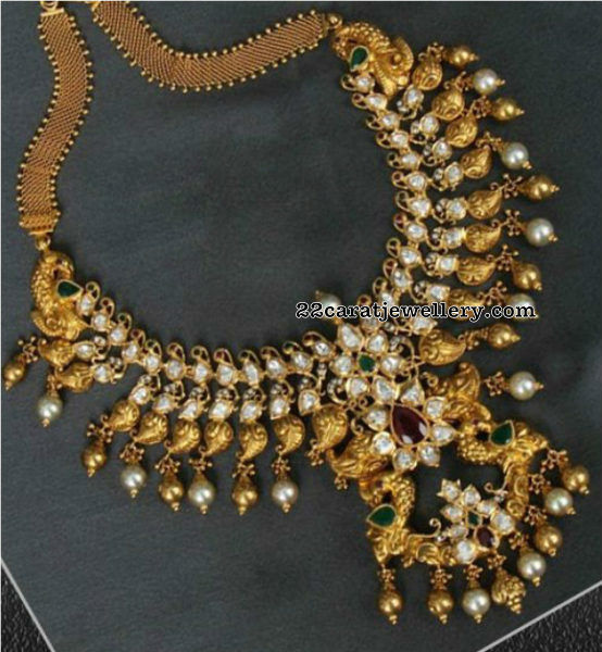Nakshi and Mango Pachi Necklace