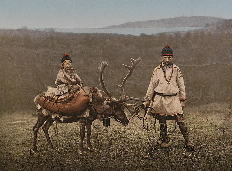 White Wolf : Rare, old photos of indigenous Sami people ...