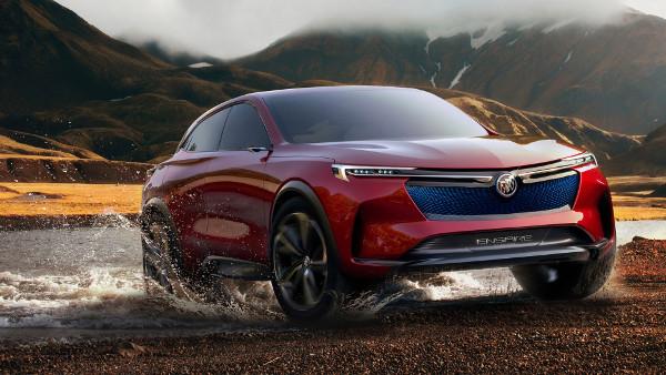Buick Enspire Electric SUV 2018 - Fond d'Écran en Full HD