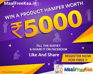 Free Product Hampers Rs 5000