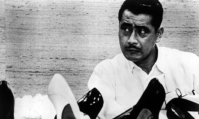 Toshiro Mifune as shoe factory magnate in Akira Kurosawa's High and Low