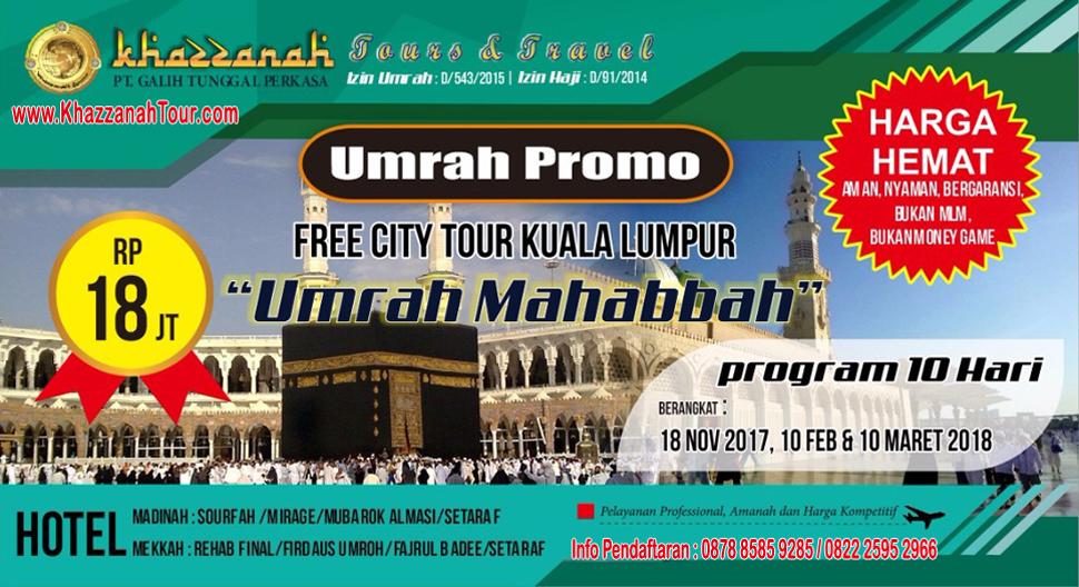 Khazzanah Tours Umroh Mahabbah Citytour Kualalumpur